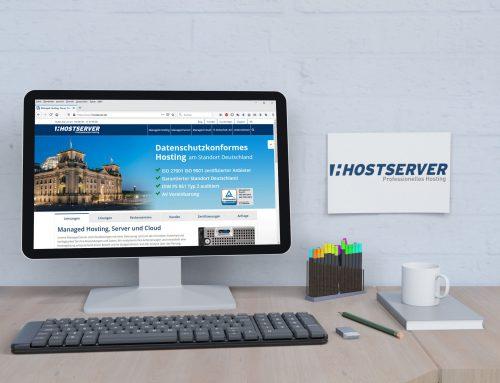 Hostserver GmbH – Firmen Website
