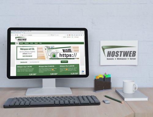Hostweb GmbH – Firmen Website