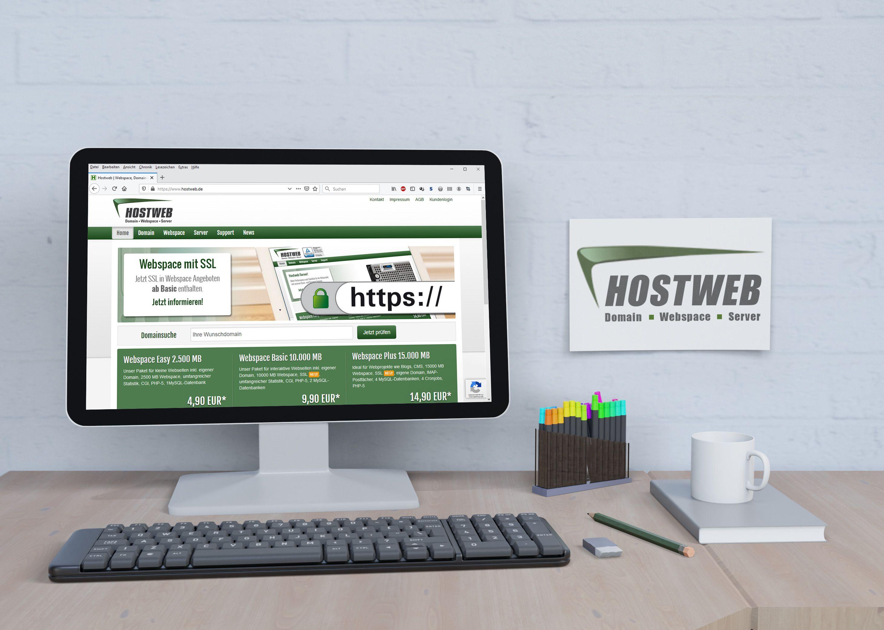 Hostweb Website - Portfolio