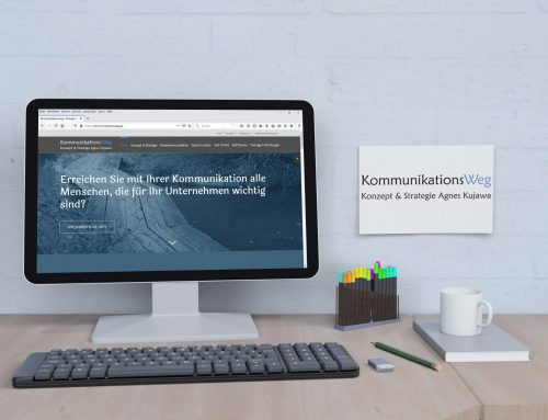 Kommunikationsweg – Dienstleister Website