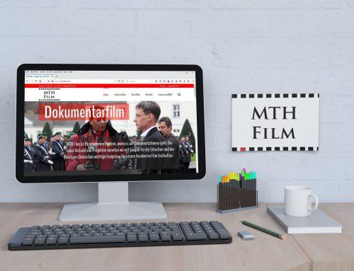 MTH Film – Dienstleister Website
