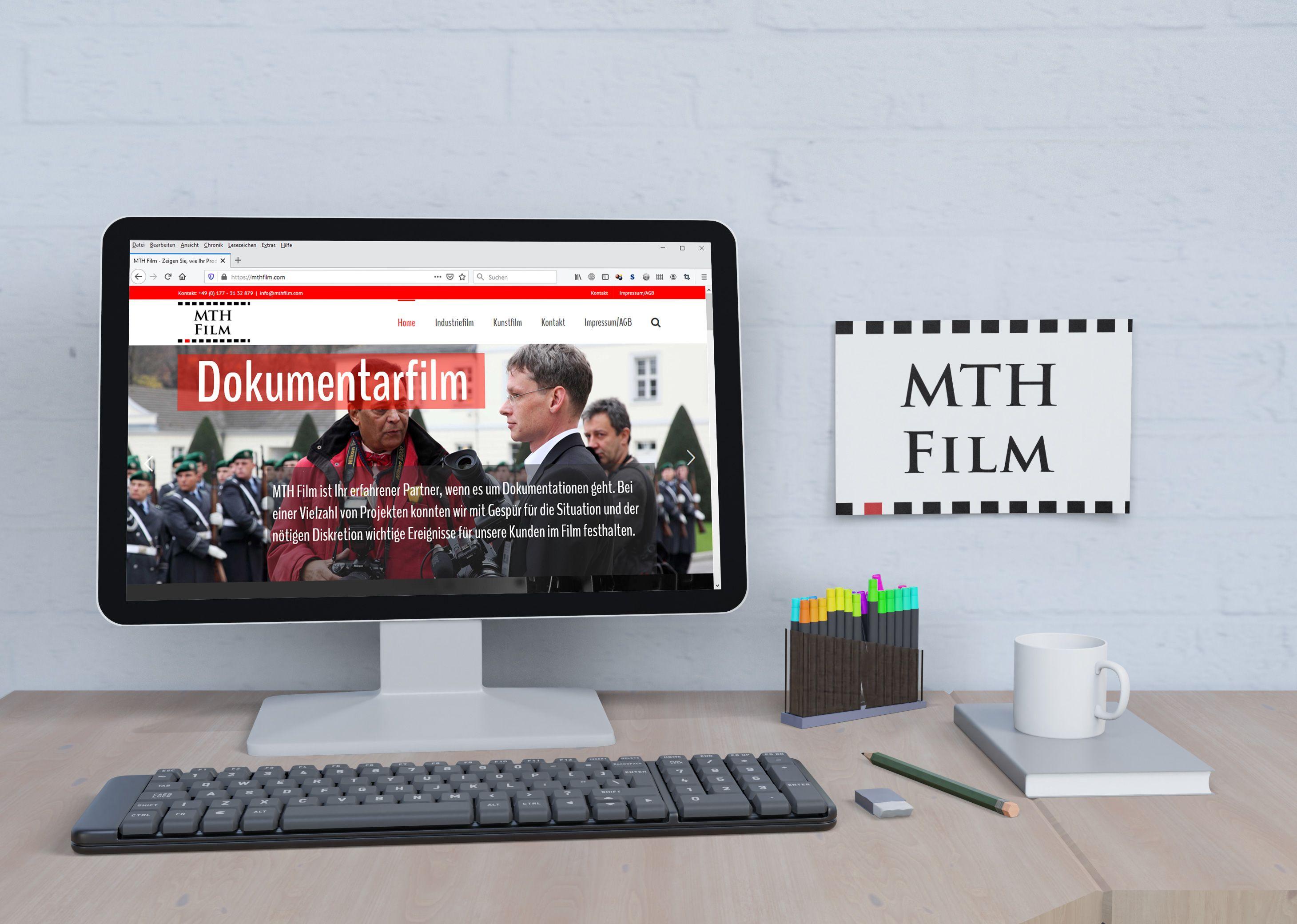 MTH Film Website - Portfolio