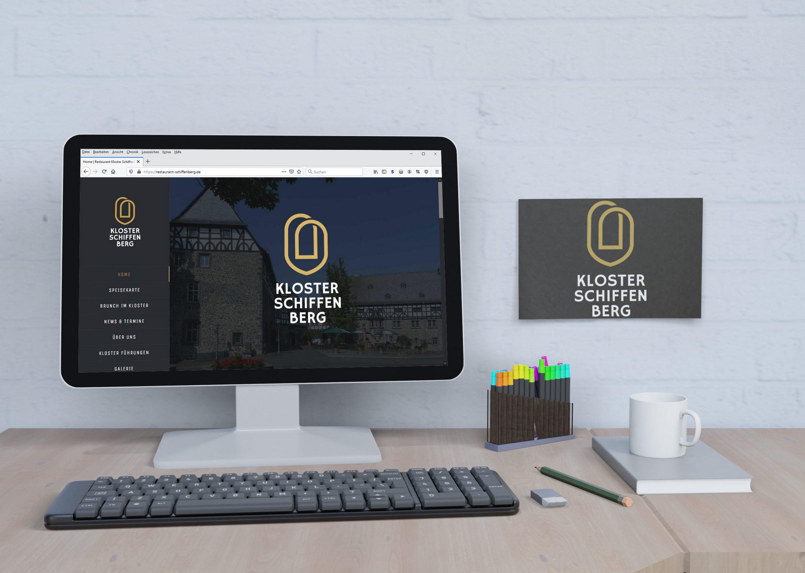 Kloster Schiffenberg Website - Portfolio